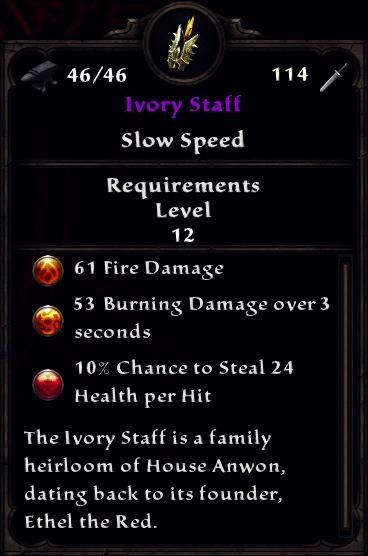 Ivory Staff