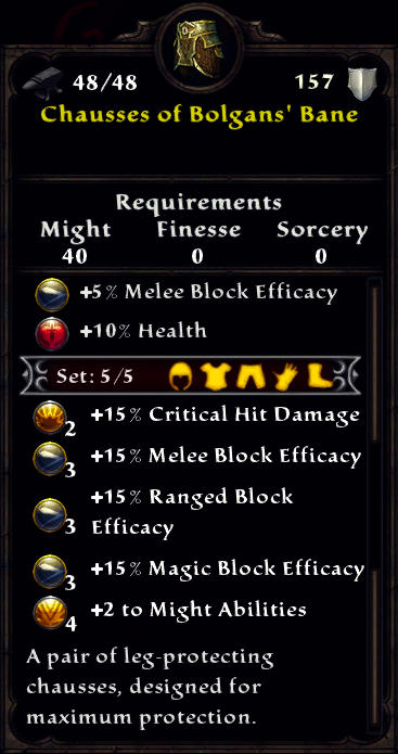 Chausses of Bolgan's Bane Inventory.png