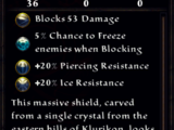 Crystalline Barrier