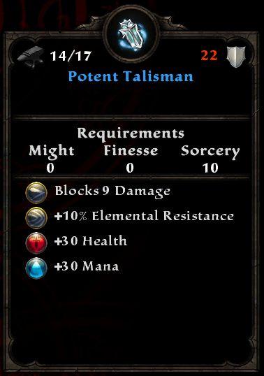 Potent Talisman