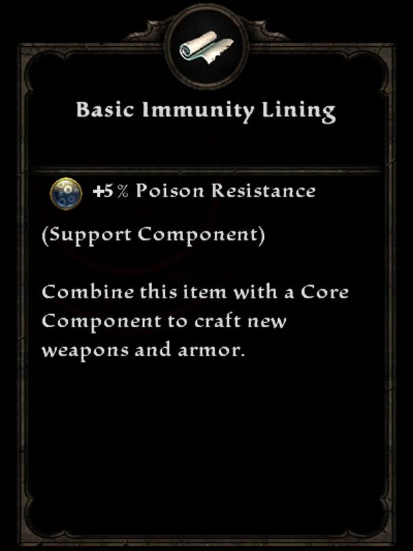 Basic Immunity Lining