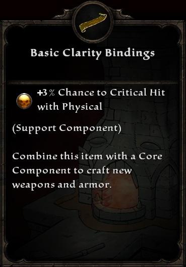 Basic Clarity Bindings