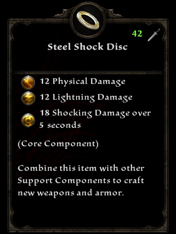 Steel Shock Disc
