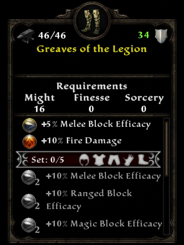 Greaves of the Legion