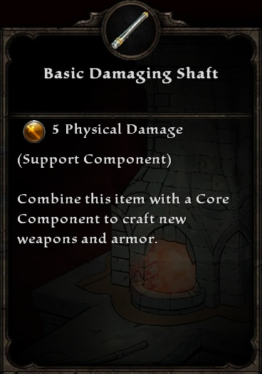 Basic Damaging Shaft