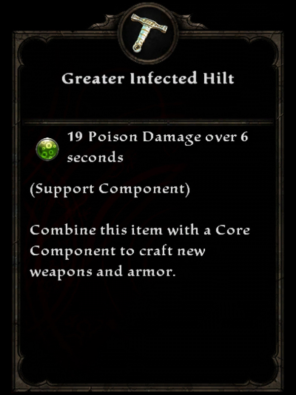 Greater Infected Hilt