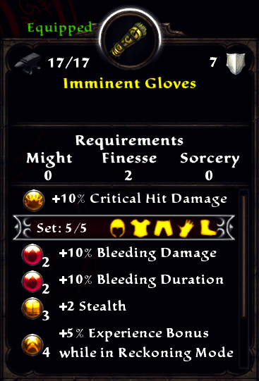 Imminent Gloves