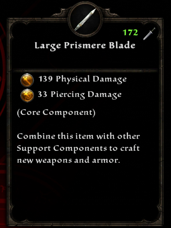 Large Prismere Blade