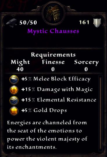 Mystic Chausses