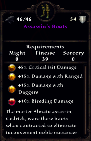 Assassin's Boots