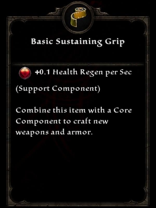 Basic Sustaining Grip