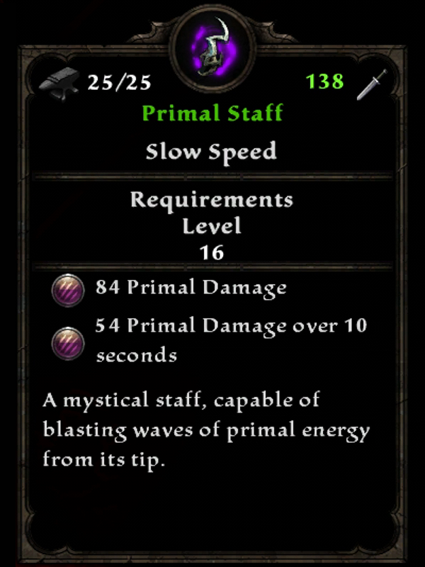 Primal Staff
