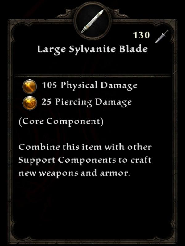 Large Sylvanite Blade