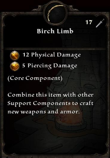 Birch Limb