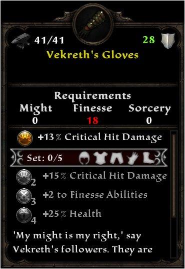 Vekreth's Gloves