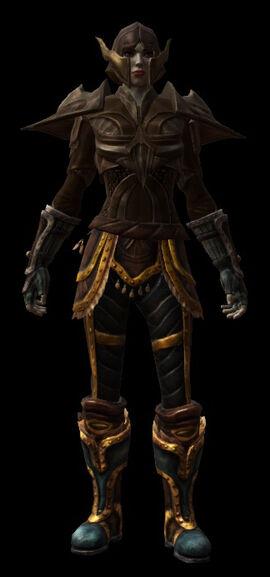 Worbla Armor Alduin HipThigh Armor