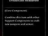Dreadscale Headdress