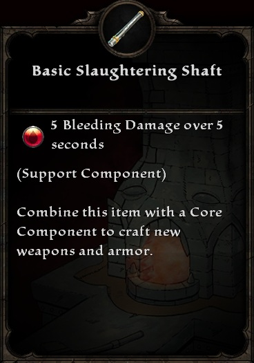 Basic Slaughtering Shaft