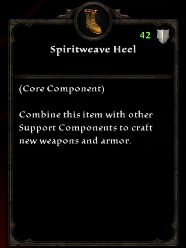 Spiritweave Heel
