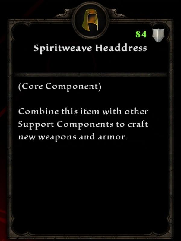Spiritweave Headdress