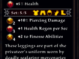 Privateer's Leggings