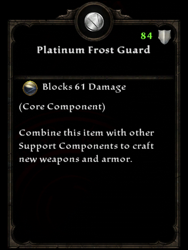 Platinum Frost Guard