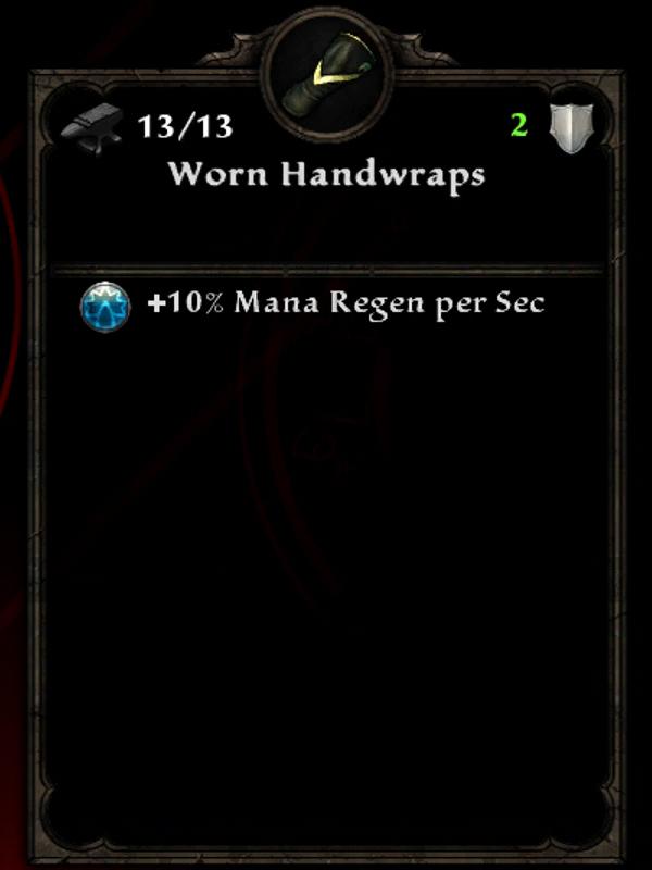 Worn Handwraps