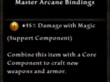 Master Arcane Bindings