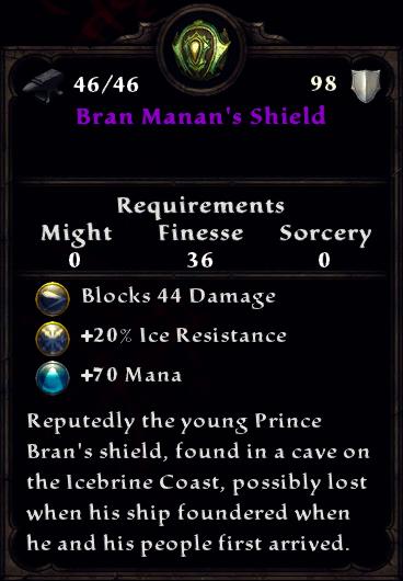 Bran Manan's Shield