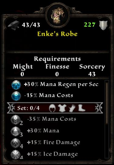 Enke's Robes