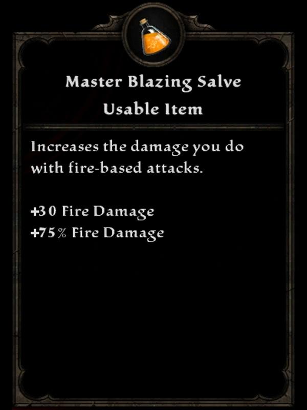 Master Blazing Salve