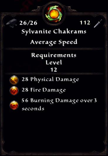 Sylvanite Chakrams