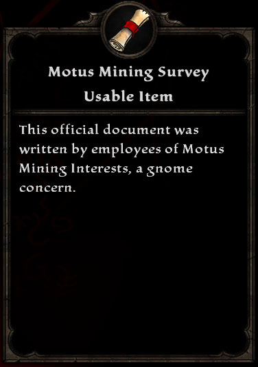 Motus Mining Survey
