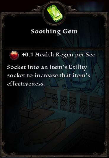 Soothing Gem