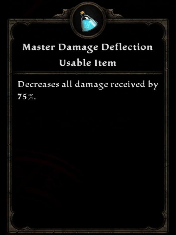 Master Damage Deflection