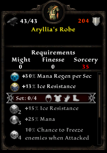 Aryllia's Robe