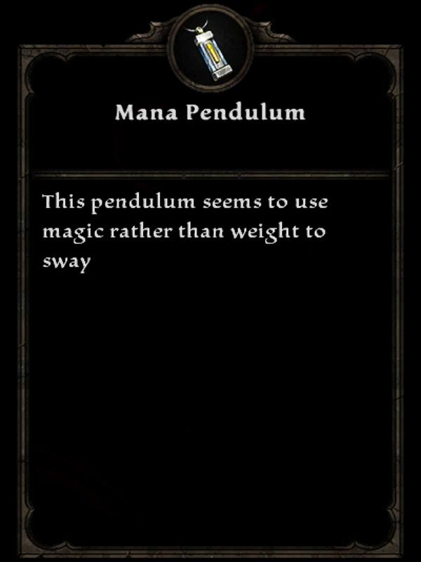 Mana Pendulum