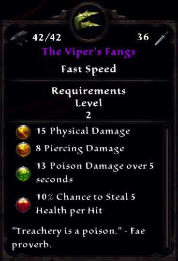 The Viper's Fangs