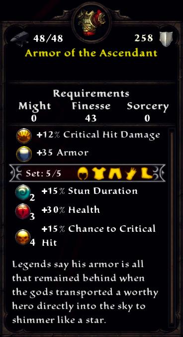 Armor of the Ascendant