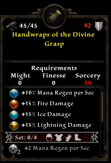 Handwraps of the Divine Grasp