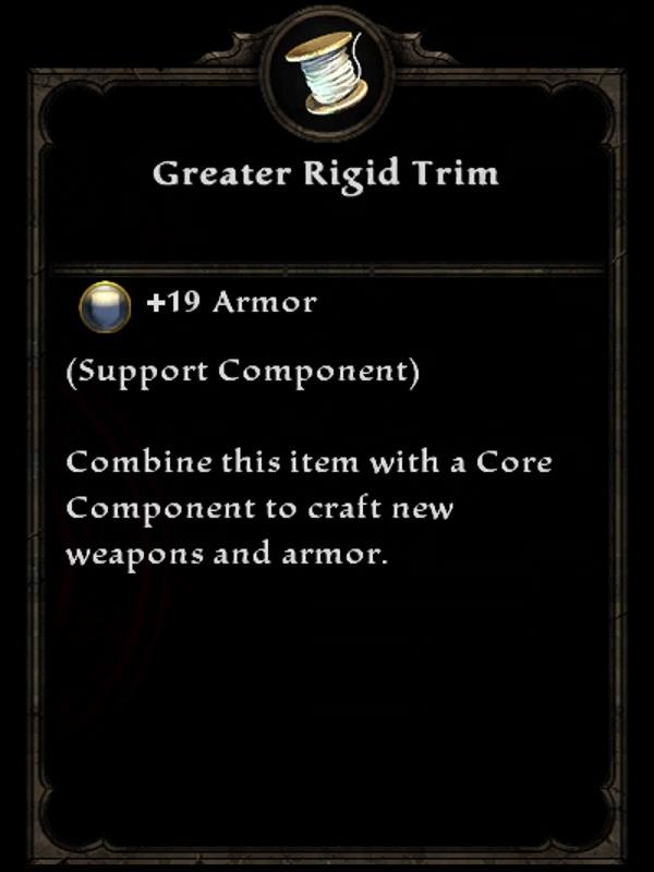 Greater Rigid Trim