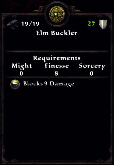 Elm Buckler