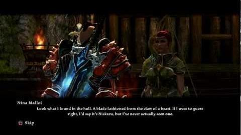 Kindgom of Amalur Unique Weapon ~ Niskaru Blade Legend of Dead Kel DLC