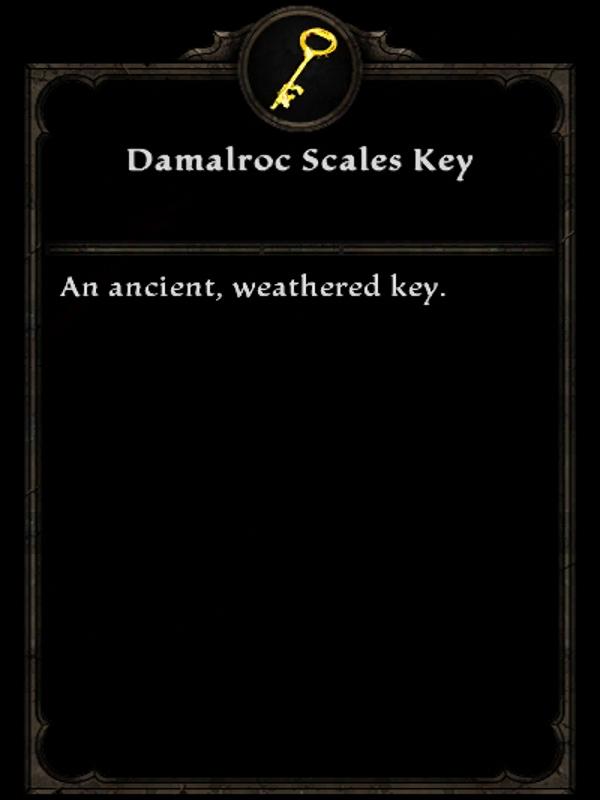 Damalroc Scales Key