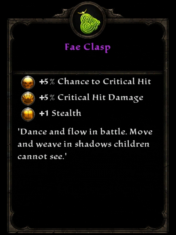 Fae Clasp