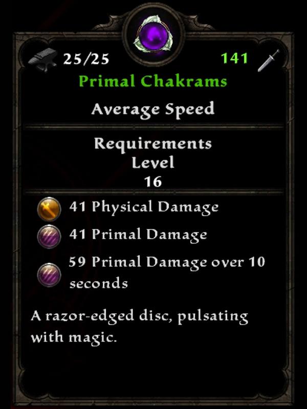 Primal Chakrams