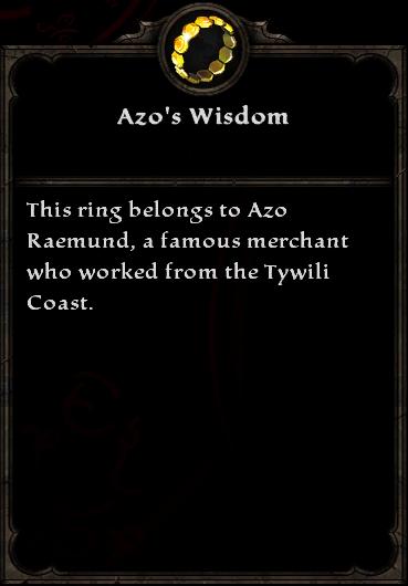 Azo's Wisdom