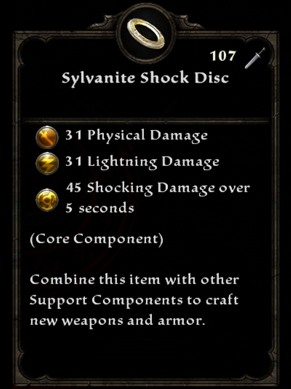 Sylvanite Shock Disc