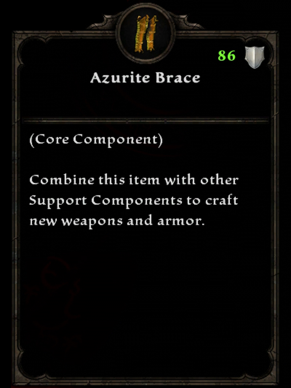 Azurite Brace