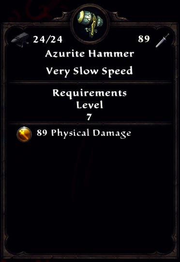 Azurite Hammer